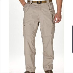 5.11 Tactical Series Tan Cargo Pants 30/32